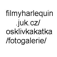 Michaela Horká v černobílých šatech